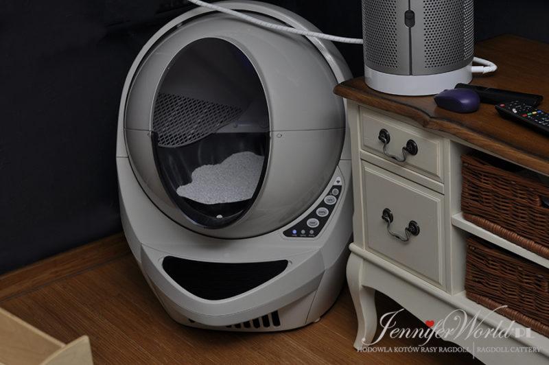 Samoczyszcząca kuweta Litter Robot III Connect WIFI